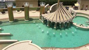 Pool Area Raffles Hotel Dubai