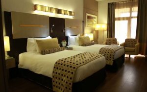 Twin room Grand Plaza Hotel Dubai