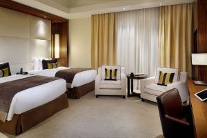 Marriott Marquis Hotel Room Dubai