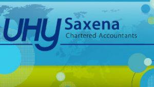 UHY Saxena Dubai logo