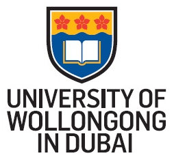 Wollongong university Dubai logo