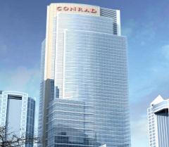 Conrad hotel in Dubai