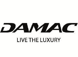 Damac logo live the luxury Dubai