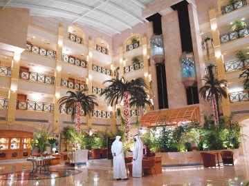 Al Ain Rotana Hotel lobby Dubai