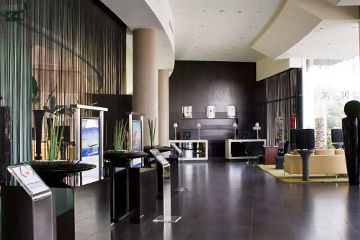 Centro hotel Sharjah UAE lounge