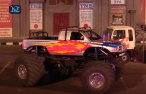 Monster truck at Global village Dubai