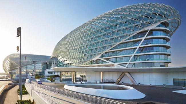 Yas Island hotel Abu Dhabi