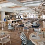 Bleu Blanc Restaurant Renaissance hotel Dubai