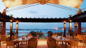 Bussola restaurant Westin hotel Dubai