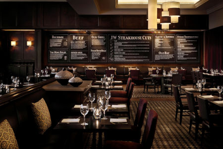 JW Steakhouse Grosvenor house hotel Abu Dhabi