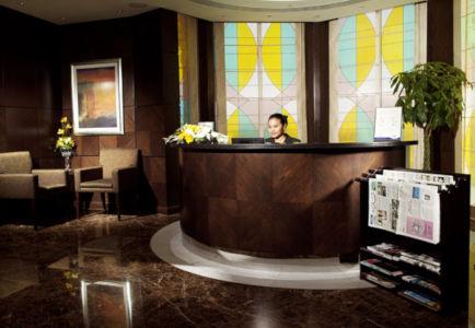 front desk agent fujairah rotana resort hotel uae