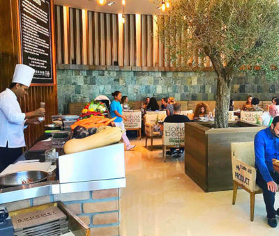 kcal restaurant le meridien Dubai