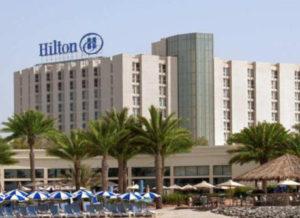 Hilton hotel Abu Dhabi UAE