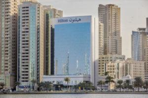 Hilton hotel Sharjah UAE